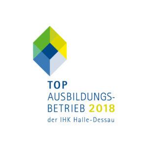 Auszeichnung Top Ausbildungsbetrieb 2018 für DLC Halle