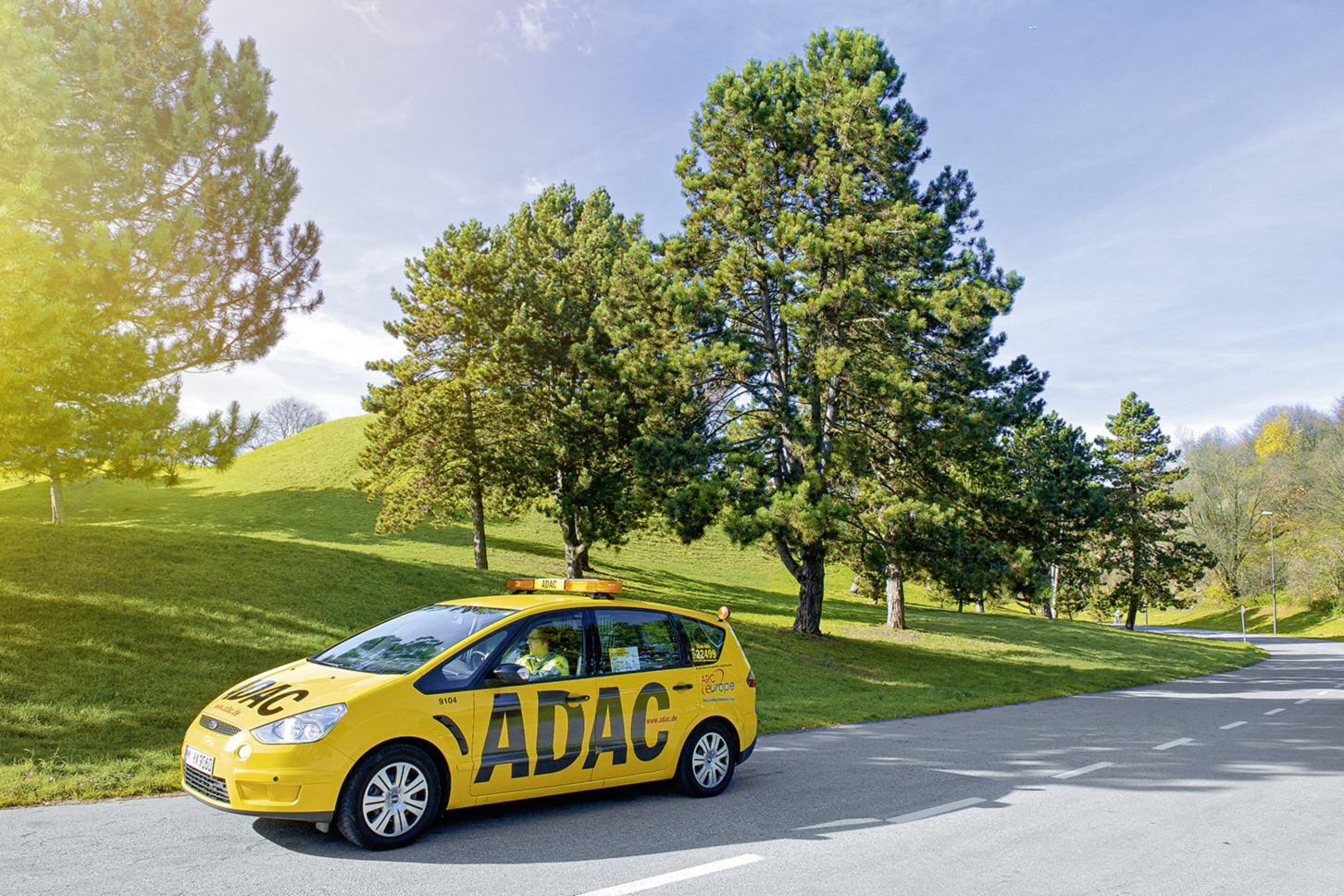 ADAC Straßenwacht Auto
